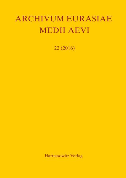 Archivum eurasiae medii aevi online dating